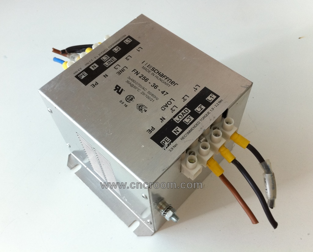 Noise Filter, 36 Amp 3 phase